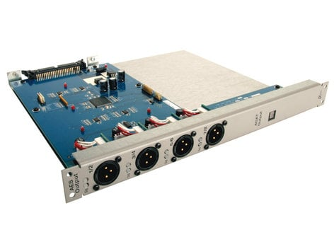 Avid DSO (Digital Stage Output Card) for VENUE Stage Rack with 8 Analog XLR Outputs DSO-192