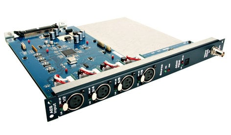 Avid DSI (Digital Stage Input Card) for VENUE Stage Rack with 8 Analog XLR Inputs DSI-192