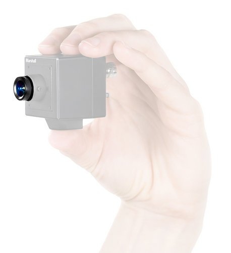 Marshall Electronics V-4350-2.5 50mm F2.5 Hi Res M12 Lens Option V-4350-2.5