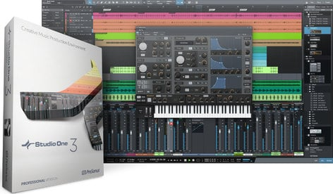 PreSonus Studio One 3 Professional Advanced Digital Audio Workstation - Box & Key Card S1-3-PRO