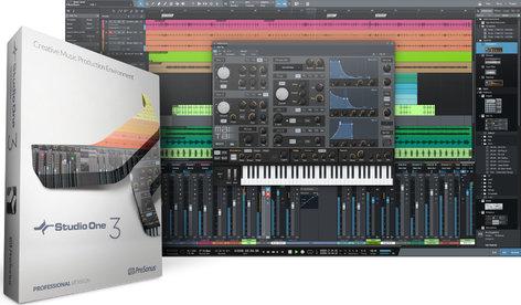 PreSonus Studio One 3 Professional Advanced Digital Audio Workstation - Electronic Delivery S1-3-PRO-EE
