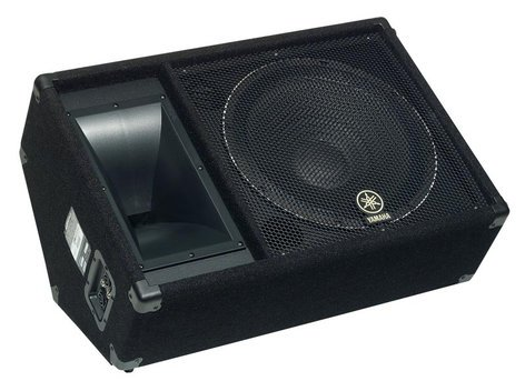 "Yamaha SM15V Concert Club V Series 15"" 2-Way 1000W Peak (8 Ohms) Floor Monitor SM15V-CA"