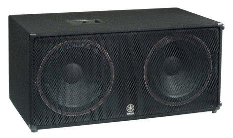 """Yamaha SW218V Concert Club V Series Dual 18"""" 2400W Peak (4 Ohms) Subwoofer SW218V-CA"""