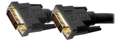 Gefen CAB-DVIC-DLN-06MM  6-Foot Dual Link DVI Male to Male Cable in Black CAB-DVIC-DLN-06MM