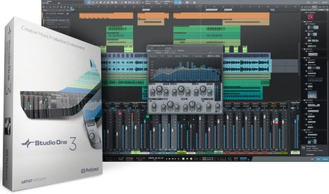 PreSonus Studio One 3 Artist Advanced Digital Audio Workstation - Box & Key Card S1-3-ARTIST