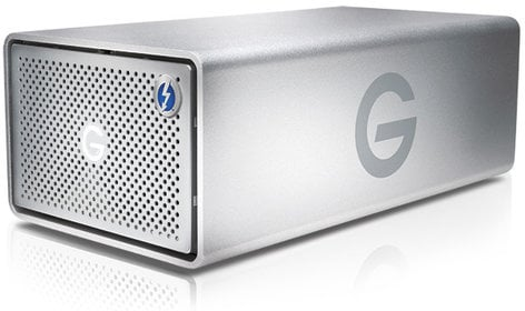 G-Technology G|RAID with Thunderbolt 2x 4TB Hard Drive with USB 3.0 0G04085