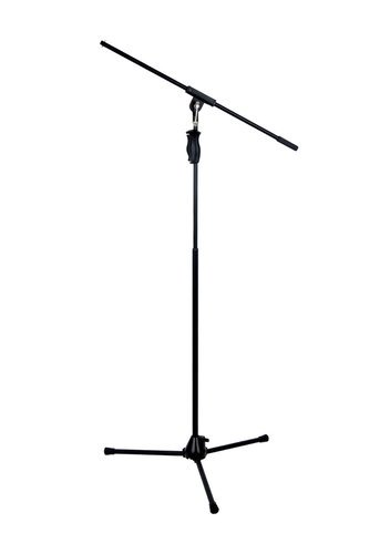 Hamilton Stands KB242M E-Trigger Tripod Base Microphone Stand with Fixed Boom Arm and One-Hand Clutch Height Adjustment KB242M