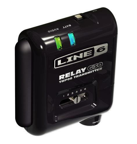 Line 6 TBP06 Line 6 Relay TBP06 Wireless Transmitter for Relay G30 Wireless Guitar System TBP06