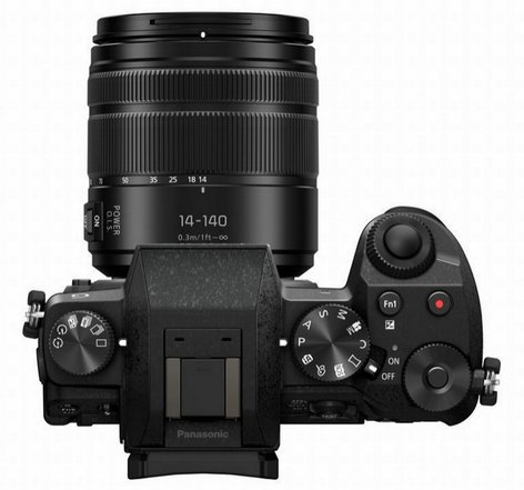 Panasonic DMC-G7HK 16MP LUMIX G7 Interchangeable Lens Camera Kit with 14-140mm Lens in Black DMC-G7HK