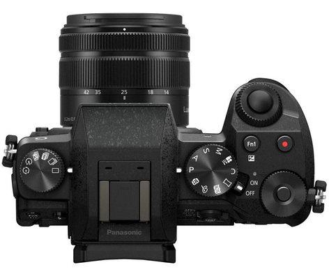 Panasonic DMC-G7KK 16MP 4K LUMIX G7 Interchangeable Lens Camera Kit with 14-42mm Lens in Black DMC-G7KK