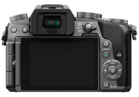 Panasonic DMC-G7KS 16MP LUMIX G7 Interchangeable Lens Camera Kit with 14-42mm Lens in Silver DMC-G7KS
