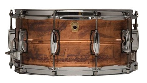 "Ludwig Drums LC661 5""x14"" Copper Phonic Snare Drum LC661"