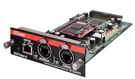 Roland System Group XI-DANTE Dante Interface Expansion Card for M-5000 Console XI-DANTE