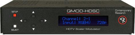 Contemporary Research Co. QMOD-HDSC  HDTV Scaler Modulator QMOD-HDSC