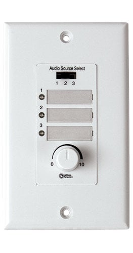 Atlas Sound WPD-RISRL Wall Plate for AA-PHD Mixer/Amplifiers WPD-RISRL
