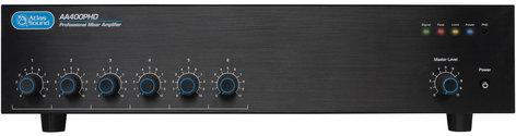 Atlas Sound AA400PHD 6-Channel Input, 400W Amplifier Mixer AA400PHD
