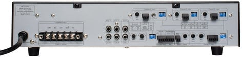 Atlas Sound AA200PHD 6-Input, 200W Mixer Amplifier with Automatic System Test (PHD) AA200PHD