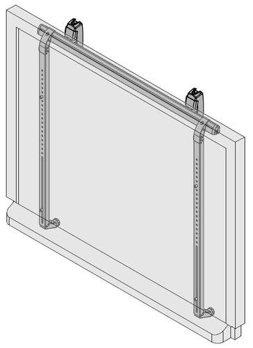 Da-Lite 28406 IDEA Interactive Whiteboard Mount 28406