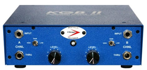 A-Designs KGB-II 2-Channel Instrument Pre-Amp KGB-II