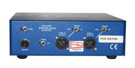 A-Designs KGB-II 2-Channel Instrument Pre-Amp KGB-II
