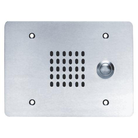 Atlas Sound VPCS-3GPB-245 25V, 3 Gang, Vandal Proof Intercom Station with Cone Loudspeaker, Call Switch VPCS-3GPB-245