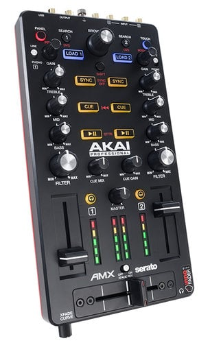 AKAI AMX  2-Channel DJ Mixing Surface and Audio Interface for Serato DJ AMX