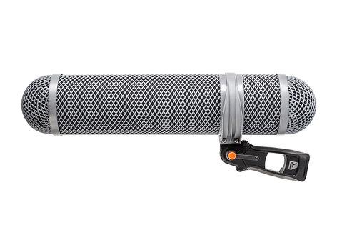 Rycote 010322 Super Shield Shotgun Microphone Windshield and Shock Mounting Kit, Large 010322