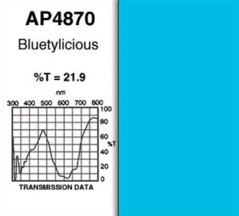"Apollo Design Technology AP-GEL-4870 20""x24"" Bluetylicious Gel Sheet AP-GEL-4870"