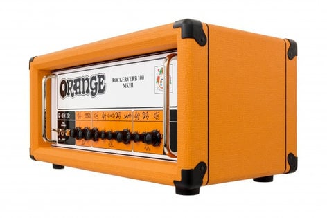 Orange Amplification Rockerverb 100H MKIII 2-Channel 100W Tube Guitar Amplifier Head with Switchable Output Power RK100HTC-MKIII