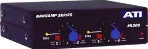 Audio Technologies ML200 Dual Microphone to Line Amplifier ML200