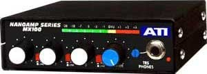 Audio Technologies Inc. MX100C NanoAmp 3 Channel Mono Mixer with Limiter, without Power Supply MX100C