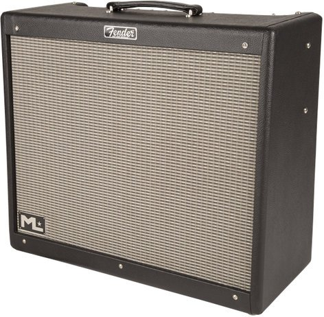 "Fender Hot Rod Deville ML 212 2x12"" 60W Tube Combo Guitar Amplifier HOT-ROD-DVL-ML212III"