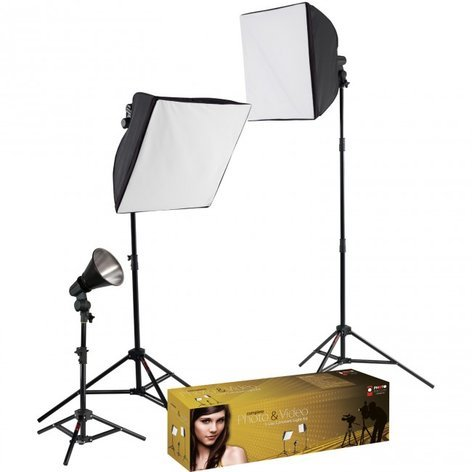 Westcott 403-WESTCOTT 403 uLite 3-Light Softbox Kit with Stands 403-WESTCOTT