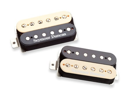Seymour Duncan Pearly Gates Humbucking Pickups in Zebra, Set of 2 11108-49-Z