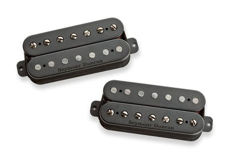 Seymour Duncan Nazgûl-Sentient 7-String Bridge and Neck Humbucking Pickups in Black, Set of 2 11108-96-B7