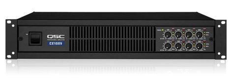 QSC CX108V 8 Channel 100W @ 70V Power Amplifier CX108V
