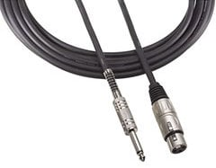 "Audio-Technica AT8311-25 Microphone Cable, XLRF-1/4"", 25 Ft AT8311-25"