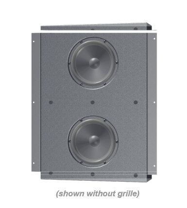 """Innovox Audio MICRO-SUB-2X6-IW Micro-Sub 2x6 iw 2x6"""" In-Wall, Compact Subwoofer MICRO-SUB-2X6-IW"""