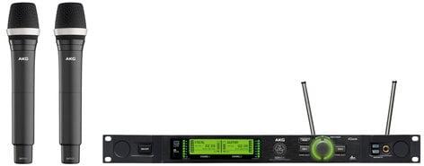 AKG DMS800 Vocal Set D5 Digital Wireless Mic System for Band 1 DMS800-D5-VOCAL