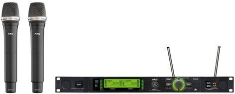 AKG DMS800-D7-VOCAL-SET DMS800 Vocal Set D7 Digital Wireless Mic System for Band 1 DMS800-D7-VOCAL-SET