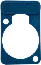 Neutrik DSS-BL Lettering Plate for D-Connectors (Blue) DSS-BL