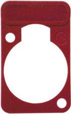 Neutrik DSS-R Lettering Plate for D-Connectors (Red) DSS-R