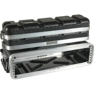 Grundorf Corp ABS-WR0208B 2RU ABS Series Wireless Rack Case ABS-WR0208B