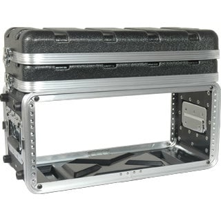 Grundorf Corp ABS-WR0408B 4RU ABS Series Wireless Rack Case ABS-WR0408B