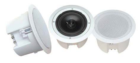"Pyle Pro PDPC82  Pair of 2-Way, 8"", 250W Ceiling Speakers, Enclosed PDPC82"