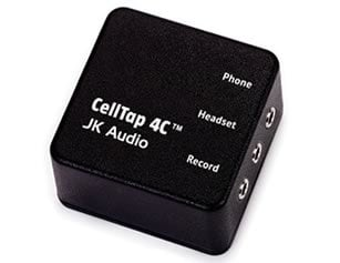 JK Audio CellTap 4C Phone Tap, Wireless  CELLTAP4C