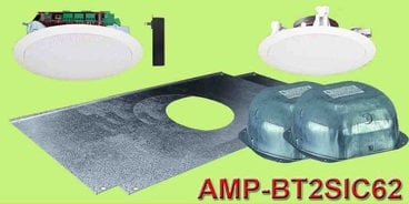 """OWI Incorporated AMP-BT2SIC62  Two Source, 6.5"""", Amplified Celing Speaker with Bluetooth AMP-BT2SIC62"""