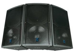 "Yorkville U15  15"", 3-Way, 1000W Speaker, 4Ohms Carpeted U15"