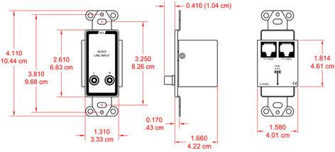 Radio Design Labs D-TPS6A  Passive Single-Pair Sender  D-TPS6A