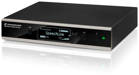 Sennheiser SL Rack Receiver DW SpeechLine DW Digital Wireless Receiver SL-RACK-RECEIVER-DW